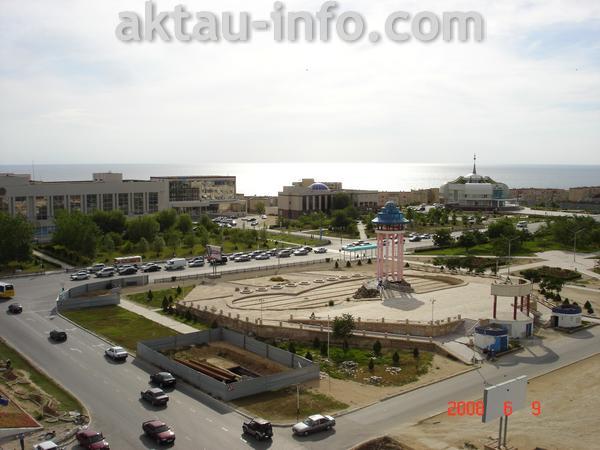 Фотографии города Актау 2008 года