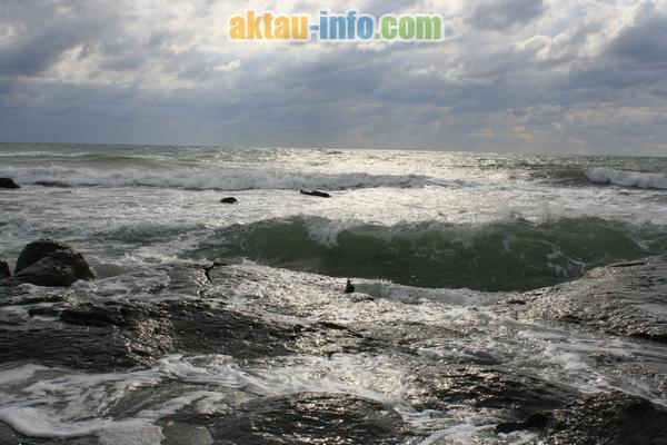Море в фото октябрь 2011 актау в