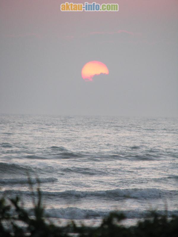 Красивые закаты Мангистау