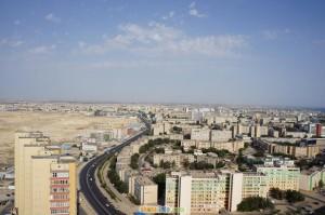 фото Актау как на ладони, смотрим на город с высоты