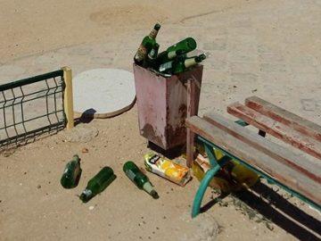 Проблема мусора на детских площадках
