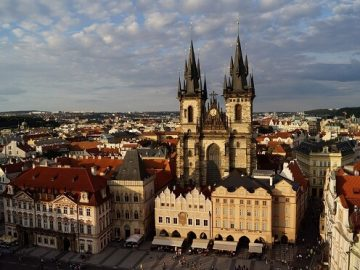 Поехать отдохнуть в Прагу